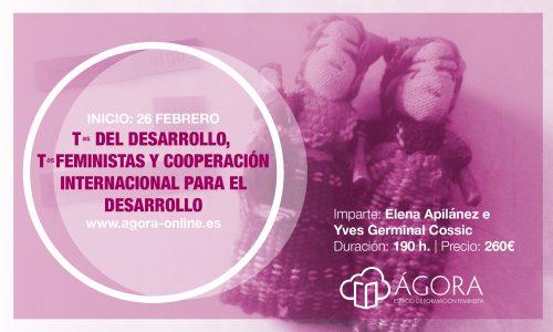 """Curso """"Teorías del Desarrollo, Teorías Feministas y Cooperación Internacional al Desarrollo"""" On line (inscripciones hasta 23 Febrero)"""