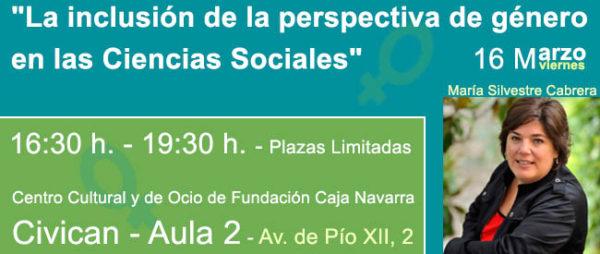 """Jornada """"La inclusión de la perspectiva de género en las Ciencias Sociales"""""""