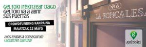 Geltoki abre sus puertas en Pamplona e inicia una Campaña de Crowdfunding