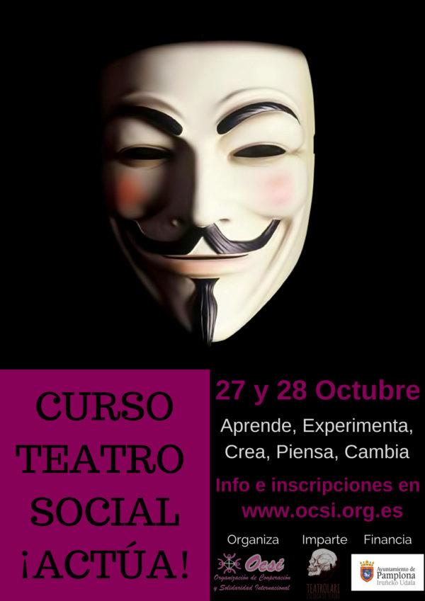 Curso Teatro social ¡ACTÚA!