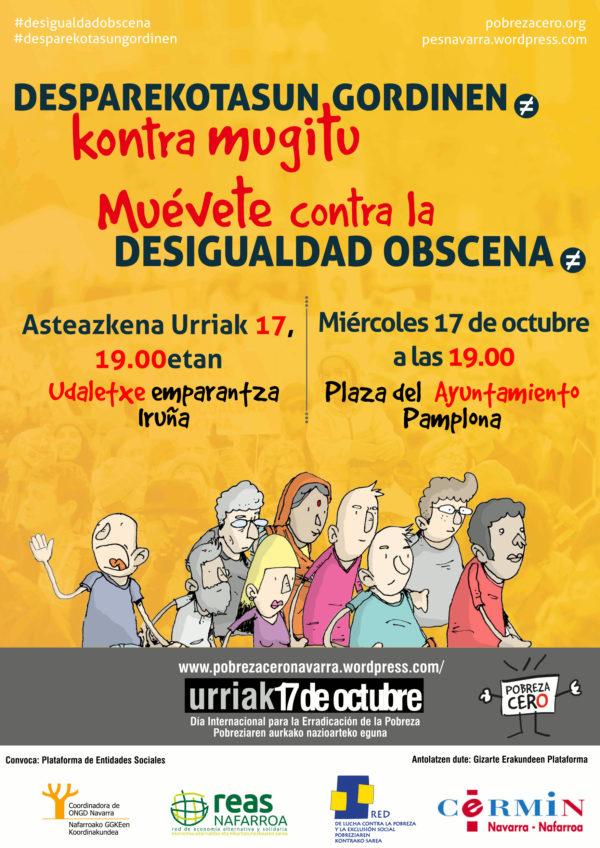 """17 OCTUBRE. """"Día Internacional de la Erradicación de la Pobreza"""""""