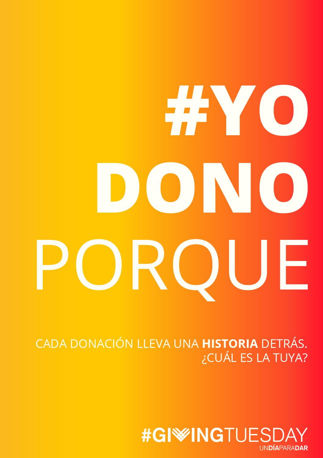 Concurso on line #YoDonoPorque