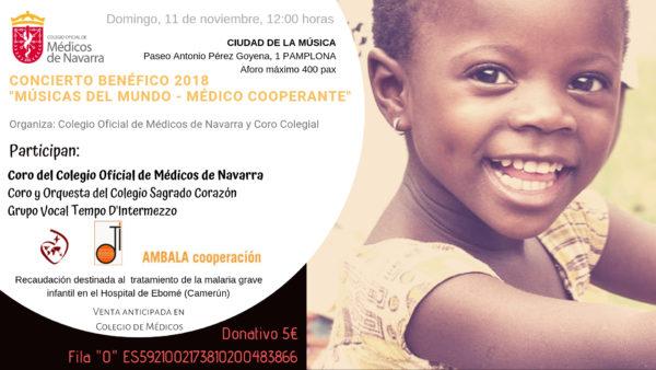 Concierto Benéfico (en favor de la ONG navarra AMBALA)