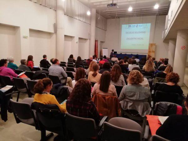 Celebramos el Encuentro Inicial de Escuelas Solidarias