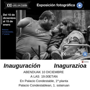 """Exposición Fotográfica """"XXI Premio Internacional Luis Valtueña de Fotografía Humanitaria"""""""