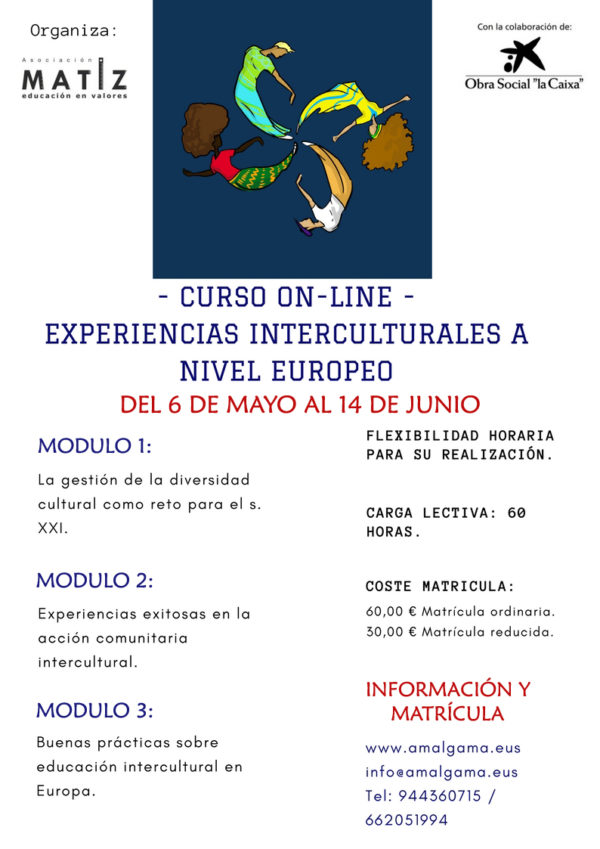 "Curso on line ""Experiencias Interculturales a nivel europeo"""
