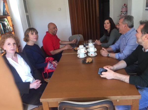 Recibimos la visita de la ONGD Cordes desde El Salvador