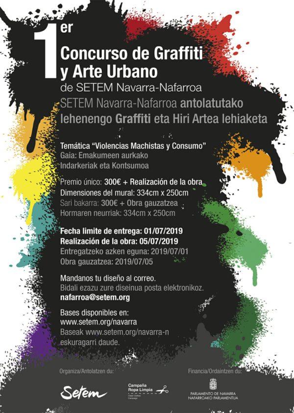 Concurso de grafitti y arte urbano