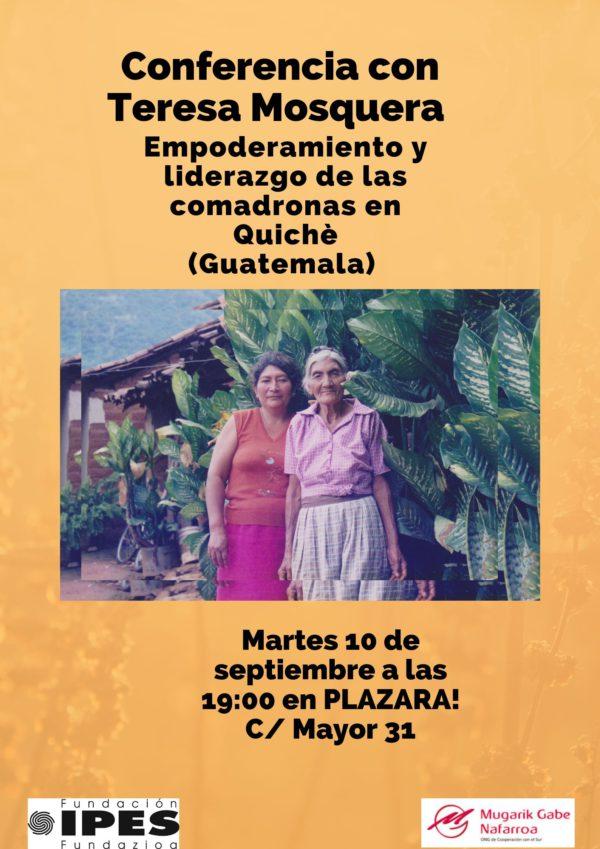 """Conferencia """"Empoderamiento y liderazgo de las comadronas en Quichè (Guatemala)"""""""