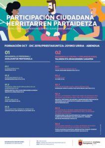 Cursos octubre-diciembre 2019 Participación ciudadana /